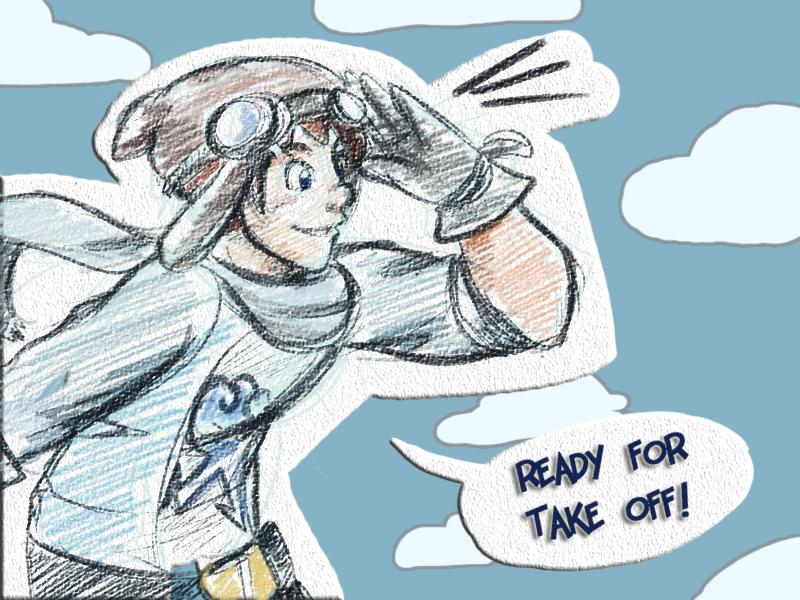 Ninjago: Aviator Jay by witch-girl-pilar