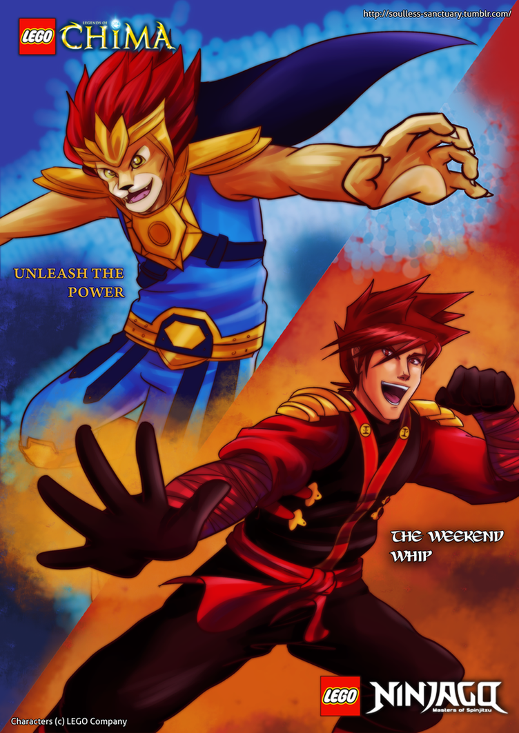 Chima X Ninjago: Unleash the Power Weekend Whip by witch-girl-pilar