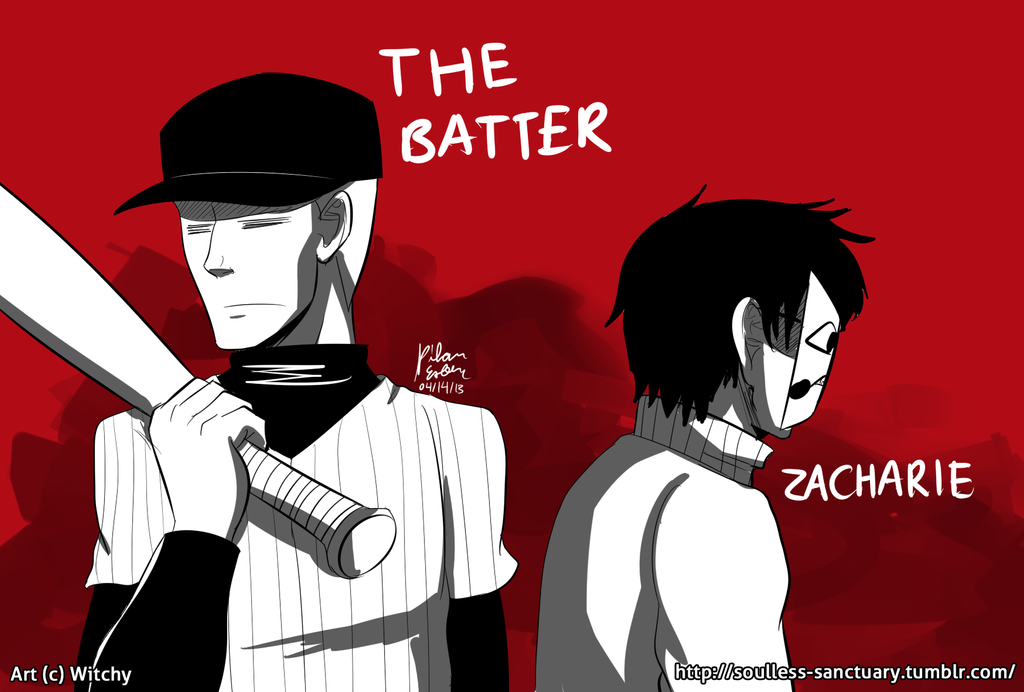 OFF: The Batter and Zacharie by witch-girl-pilar