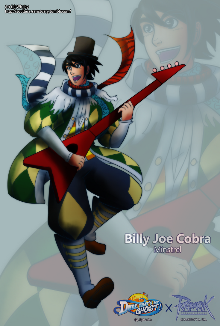 Billy Joe Cobra the Minstrel by witch-girl-pilar