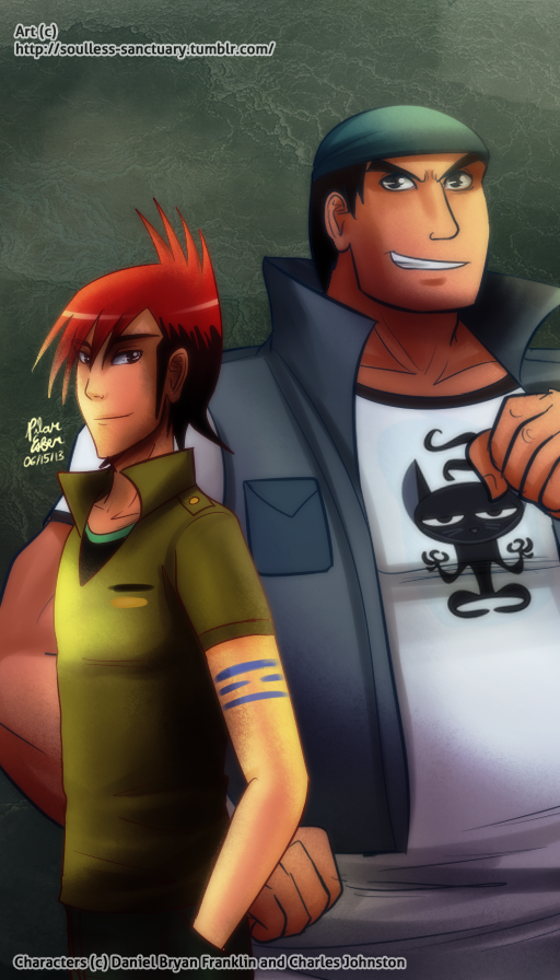 Detentionaire: Lee Ping and Biffy Goldstien by witch-girl-pilar