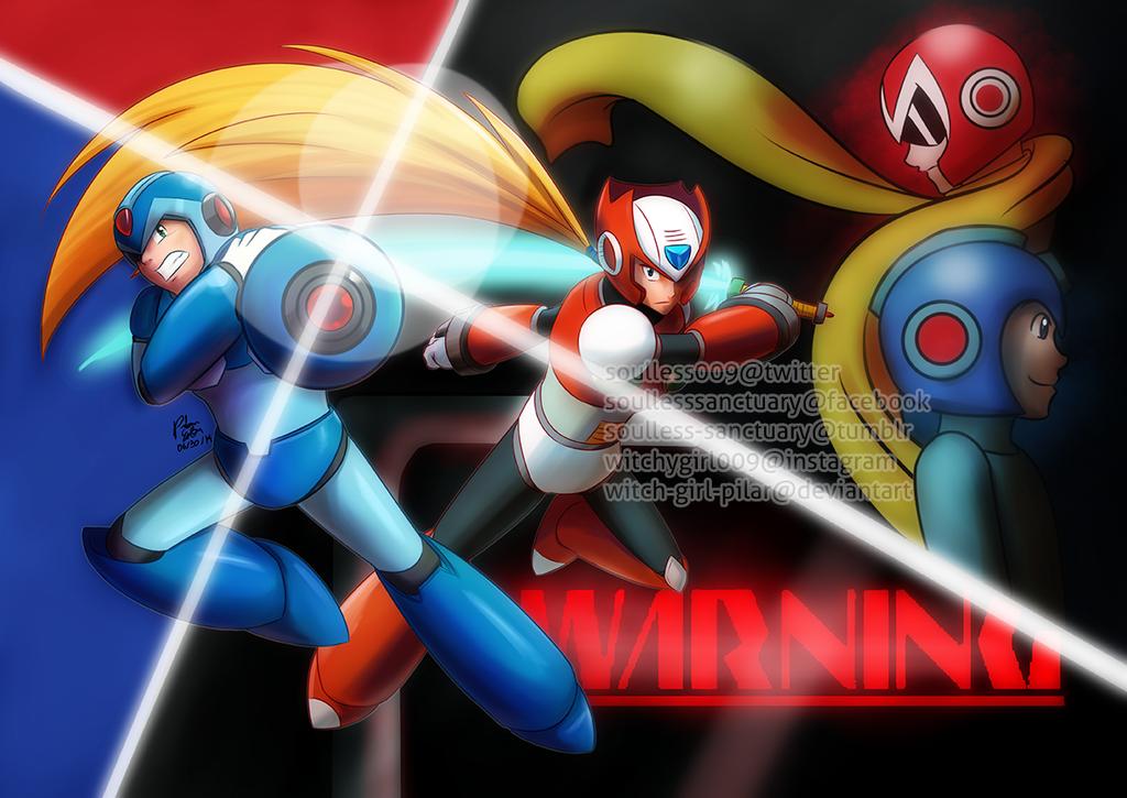 Mega Man: Dawn of X by witch-girl-pilar