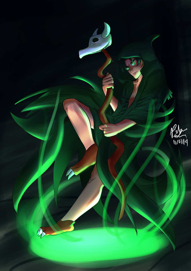 GTRO: Green Halloween by witch-girl-pilar