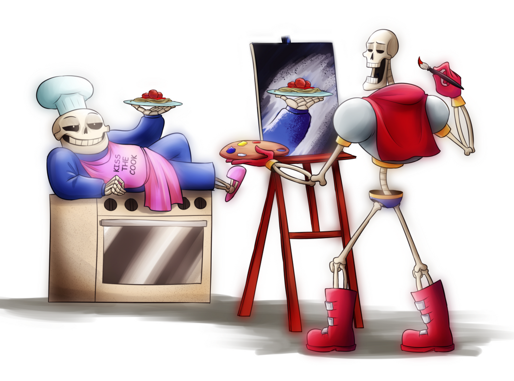 Undertale: draw me like your spaghetti by witch-girl-pilar