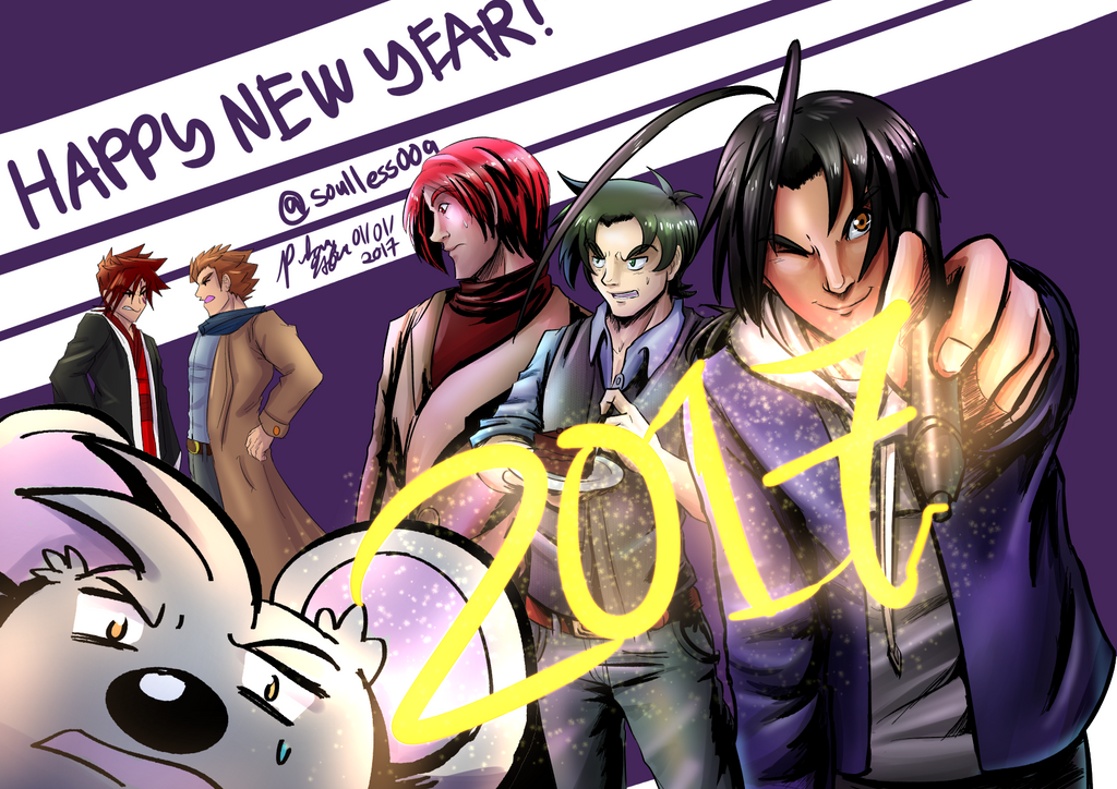 New Year 2017 by witch-girl-pilar