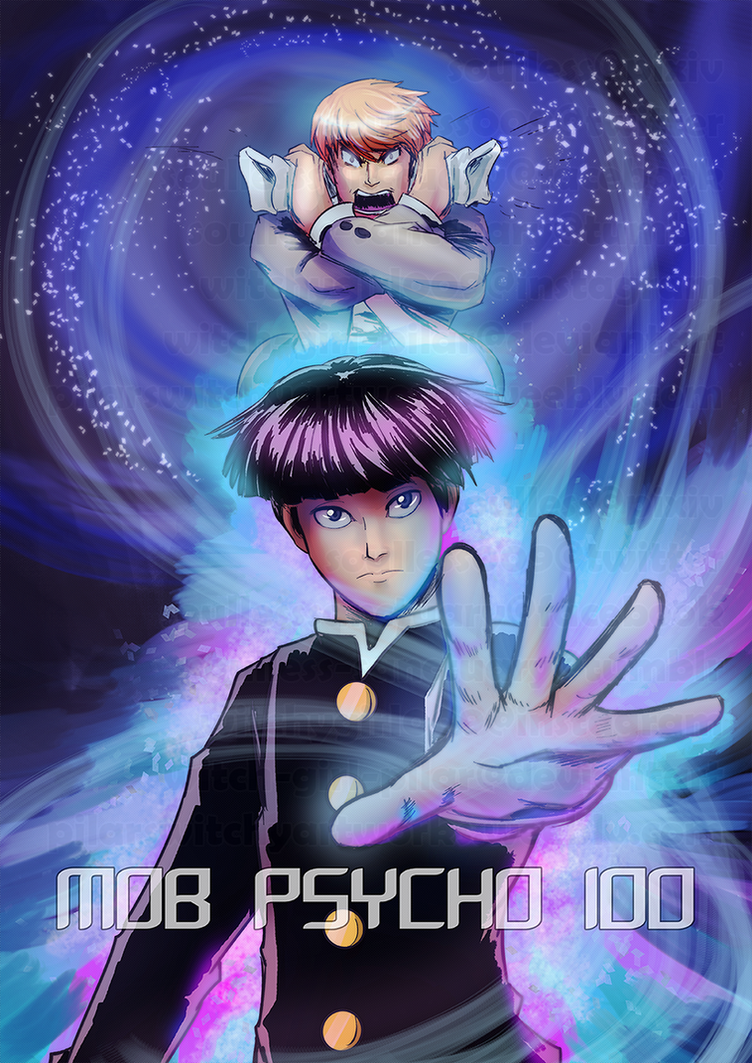 MOB PSYCHO 100 by witch-girl-pilar