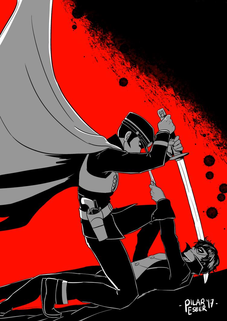 [Devil Summoner] Detective VS [Phantom] Thief by witch-girl-pilar