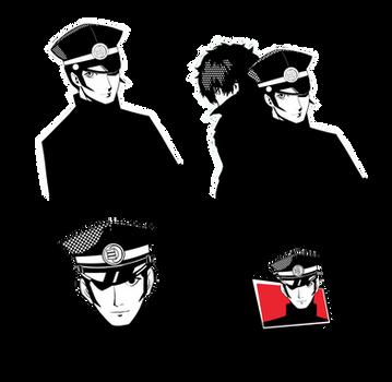Persona 5: Raidou Kuzunoha the XIV Confidant Icons