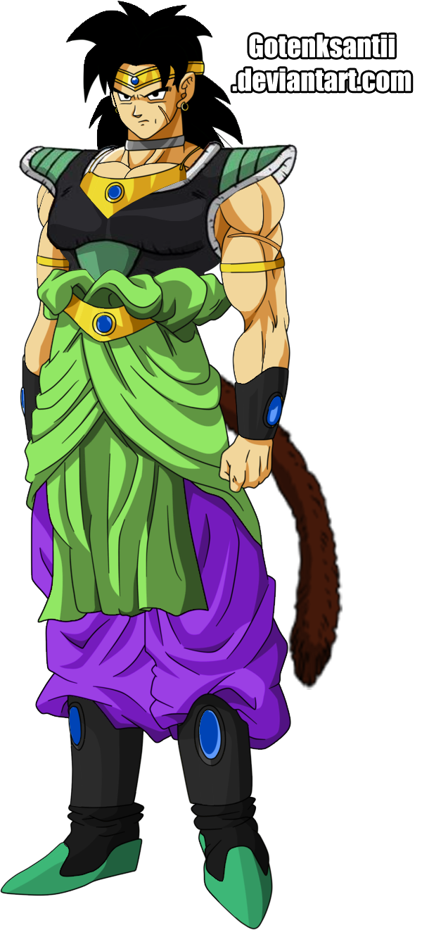 Old Broly And New Broly Fusion by GotenkSantii on DeviantArt