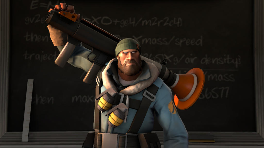 Self portrait of my Soldier loadout 2 by Robot11