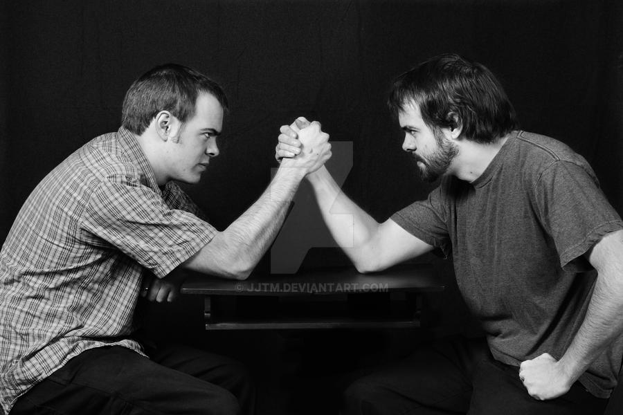 The Arm Wrestle by JJTM