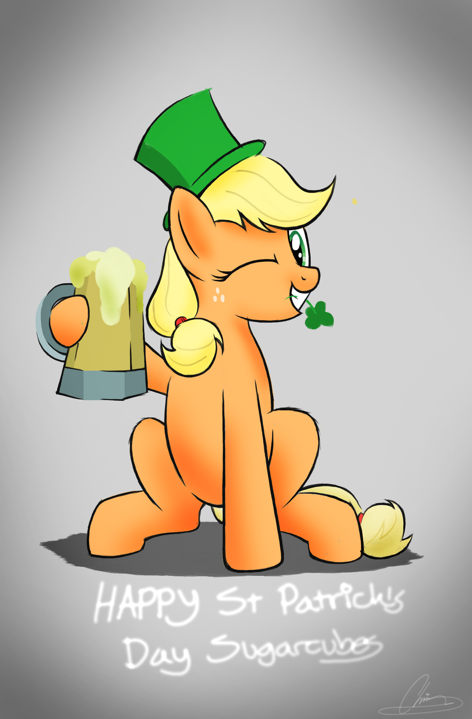 St. Patrick's Day by OinkTweetStudios