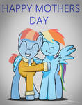 Mothers Day with Dash and Windy