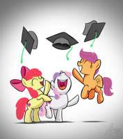 CMC Graduates by OinkTweetStudios