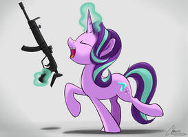Glimmer Gun 3000 by OinkTweetStudios