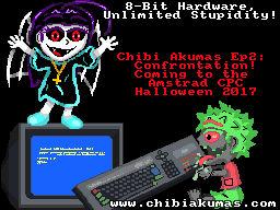 ChibiAkumas - Amstrad CPC attack!