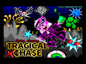 Tragical Chase - Title Screen