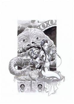 Leia Jabba Grey