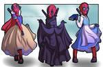 Disney Princess Deadpool