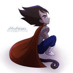 Prince Vegeta by MissPaigeChristine