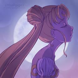 Sailor Moon Flower Crown by MissPaigeChristine