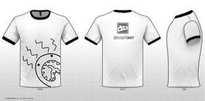 Peanut's Cute Monster T-shirt design