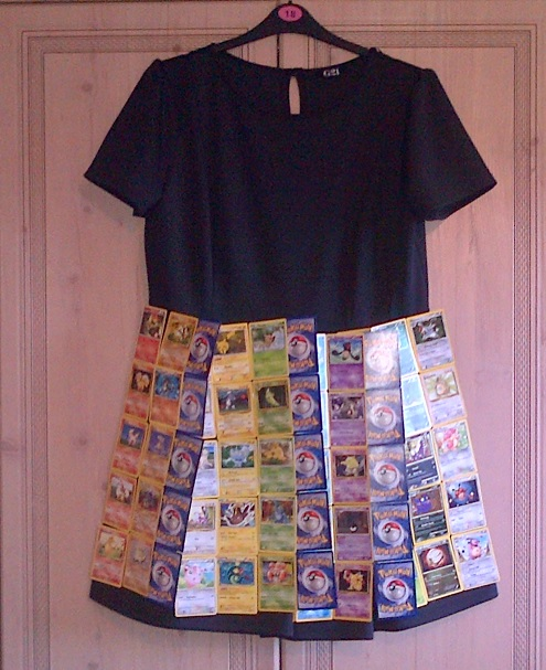 Pokemon Card Dress stage 3 by Froodals on DeviantArt