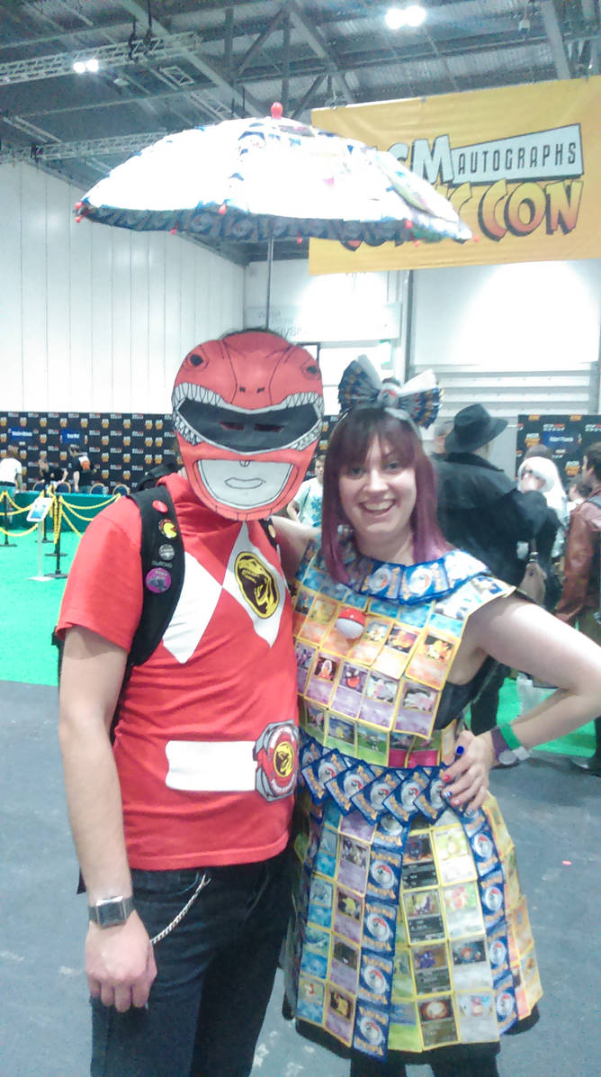 Red Ranger and Froodals!