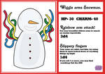 Wiggle arms Snowman
