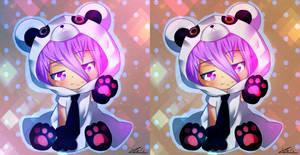 mashishi panda + SpeedPaint in description by fafouche