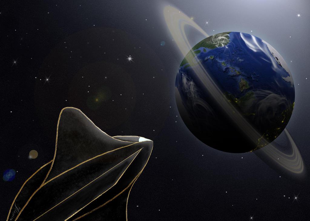 Planet ahoy ! by Alazais-Dencavel