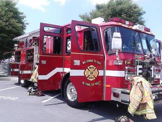 New Kingstown Fire Company Engine 1-33 by Darkcry22