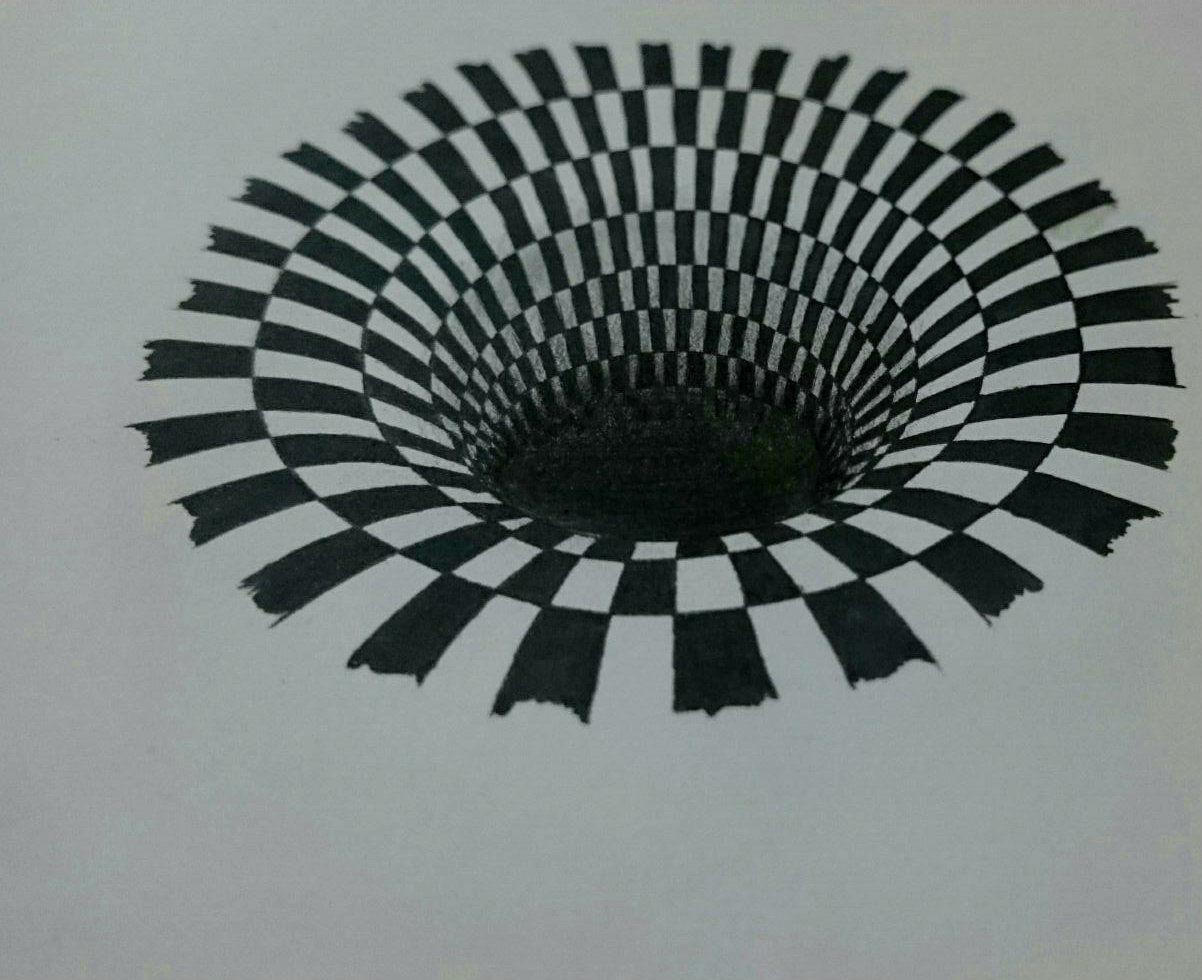 This is a picture of Hilaire Anamorphic Illusions Printable