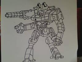BattleTech- Assault Mech by vuluvala2008