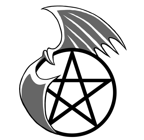 Pentacle Tattoo design 1 by