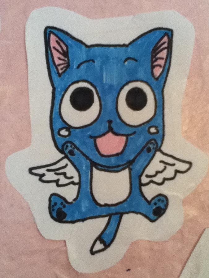 Fairy Tail: Happy Chibi by himlol14 on deviantART  Fairy Tail: Hap...