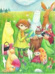 Easter in Moominvalley by Mashimoshi
