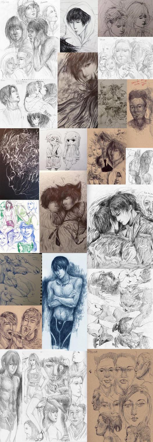 Sketchdump 1 by Mashimoshi