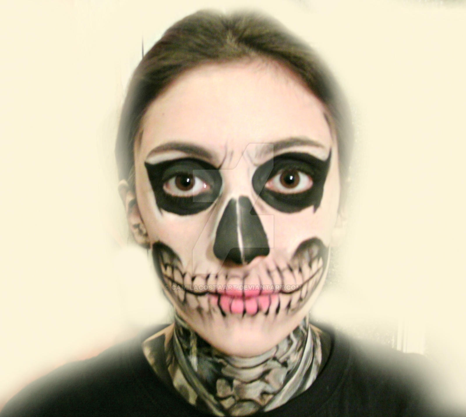 Tate Langdon- American Horror Story Makeup by CamilaCostaArt on ...