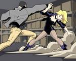Black Canary vs Thug