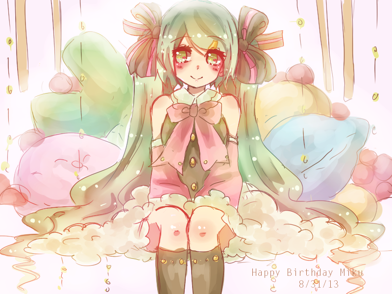 Happy birthday miku-san by ApRiLmayu