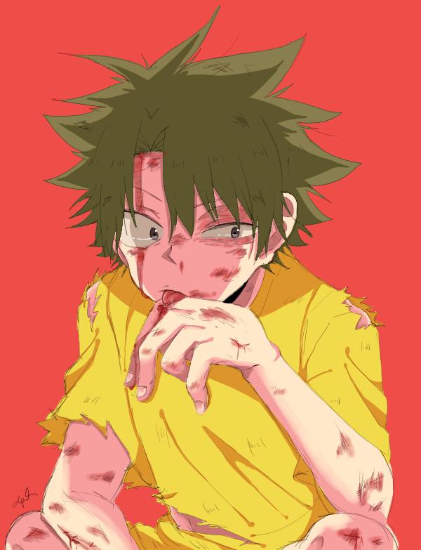 Ueki (Blood) by ApRiLmayu