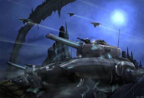 Railgun Tank by Nymbryxion101