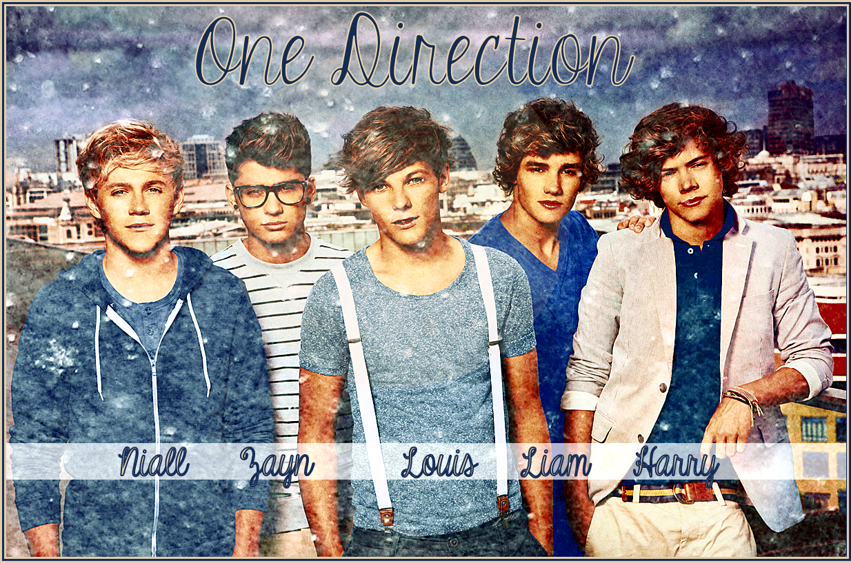wallpaper of one direction Photo