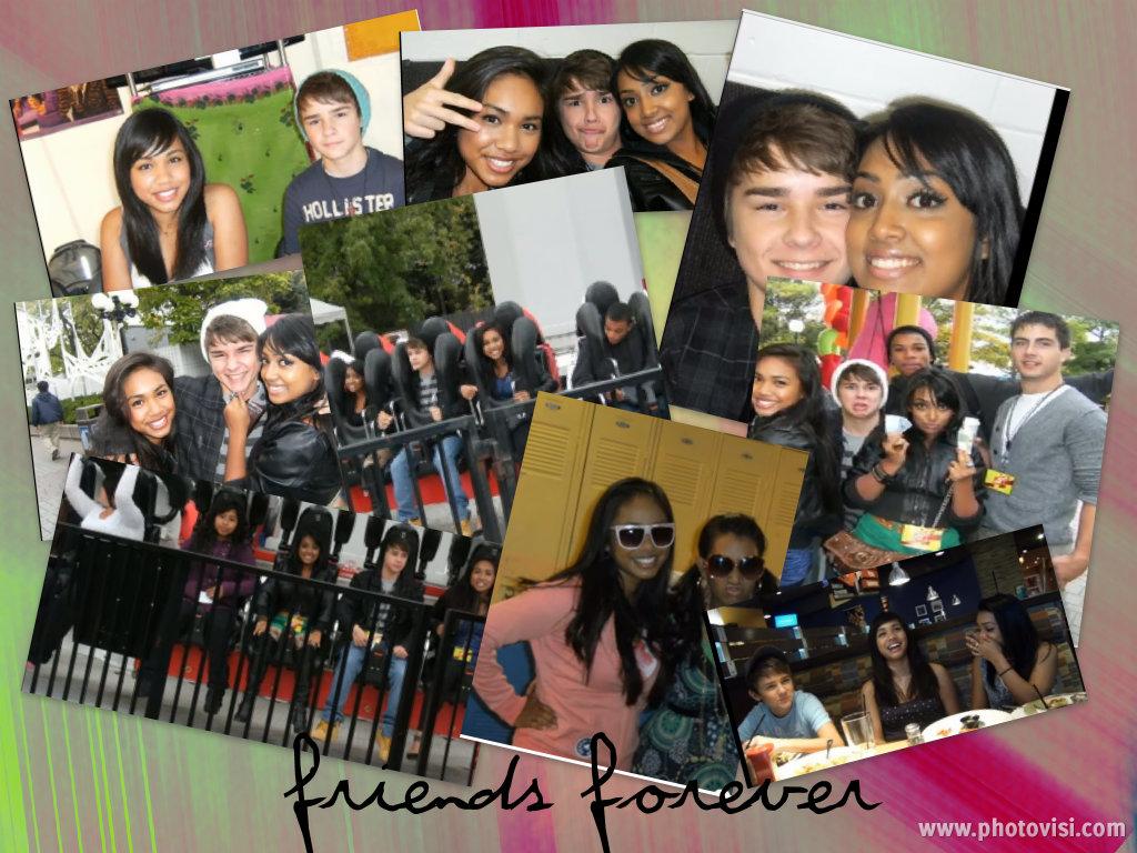 friends collage wallpaper - photo #4