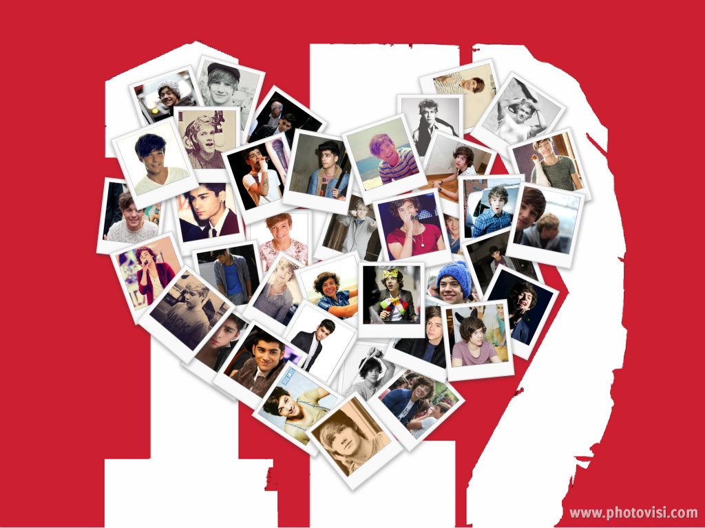 Cool Wallpaper Logo Collage - 1d_heart_collage_wallpaper_by_iluvlouis-d5bi2vo  You Should Have_908062.jpg