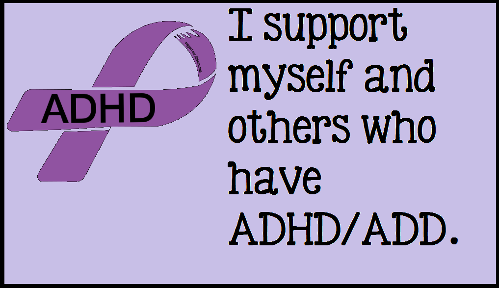 ADHD/ADD Support by iluvlouis