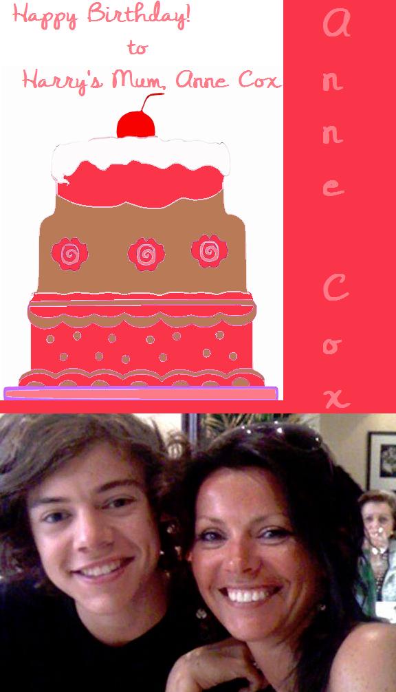Happy Birthday To Harrys Mum By Iluvlouis On Deviantart