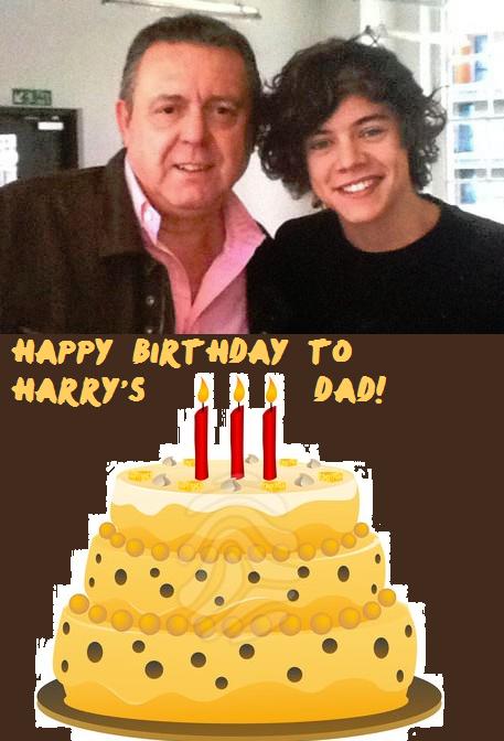 Happy Birthday To Harry 39 S Dad By Iluvlouis On Deviantart