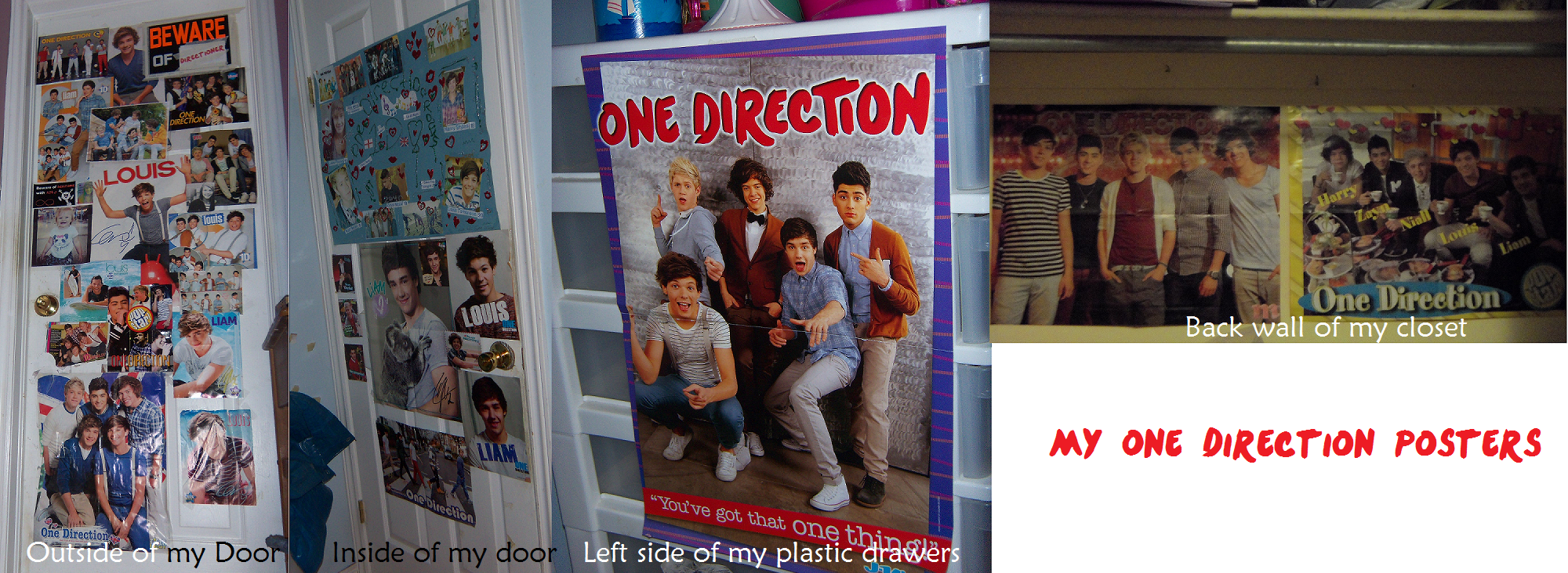 One Direction 2012 Posters My One Direction Poste...